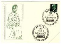 DDR Nr. PP009 C2/001b SSt. Interartes 1972 Berlin