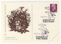 DDR Nr. PP010 B1/002a SSt. Solidarität mit Vietnam