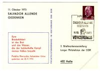 DDR Nr. PP010 D2/010b SSt. Salvador Allende Gedenken