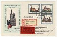 DDR Nr. U02/003b o Kölner Dom PHILATELIA '85