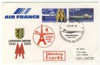 DDR Nr. U04/003 SSt. Leipziger Messe 1986 Leipzig-Paris