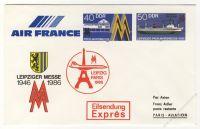 DDR Nr. U04/003 * Leipziger Messe 1986 Leipzig-Paris