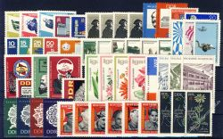 DDR 1966 Mi-Nr. 1154-1244 ** kompletter Jahrgang