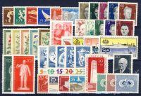 DDR 1960 Mi-Nr. 746-806 ** kompletter Jahrgang
