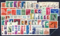 DDR 1961 Mi-Nr. 807-868 ** kompletter Jahrgang