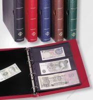 LE VARIO F - Banknotenalbum mit 10 Hüllen und Schutzkassette