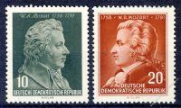 DDR 1956 Mi-Nr. 510-511 ** 200. Geburtstag von Wolfgang Amadeus Mozart
