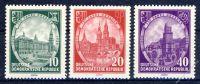DDR 1956 Mi-Nr. 524-526 ** 750 Jahre Dresden