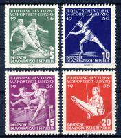 DDR 1956 Mi-Nr. 530-533 ** Deutsches Turn- und Sportfest