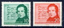 DDR 1956 Mi-Nr. 541-542 ** 100. Todestag von Robert Schumann