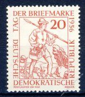 DDR 1956 Mi-Nr. 544 ** Tag der Briefmarke