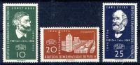 DDR 1956 Mi-Nr. 545-547 ** 110 Jahre Carl-Zeiss-Werke Jena