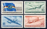 DDR 1956 Mi-Nr. 512-515 ** Ziviler Luftverkehr