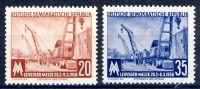 DDR 1956 Mi-Nr. 518-519 ** Leipziger Frühjahrsmesse