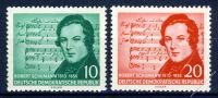 DDR 1956 Mi-Nr. 528-529 ** 100. Todestag von Robert Schumann