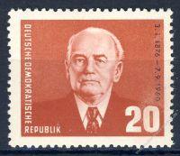 DDR 1961 Mi-Nr. 807 ** 85. Geburtstag von Präsident Wilhelm Pieck