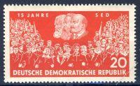 DDR 1961 Mi-Nr. 821 ** 15 Jahre SED