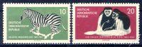 DDR 1961 Mi-Nr. 825-826 ** 100 Jahre Dresdner Zoo