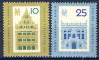 DDR 1961 Mi-Nr. 843-844 ** Leipziger Herbstmesse