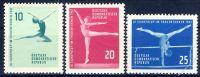 DDR 1961 Mi-Nr. 830-832 ** Kunstturn-Europapokal der Frauen