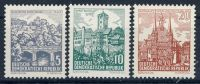 DDR 1961 Mi-Nr. 835-837 ** Landschaften und historische Bauten