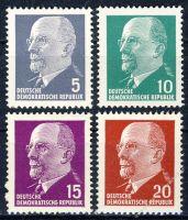 DDR 1961 Mi-Nr. 845-848 ** Staatsvorsitzender Walter Ulbricht