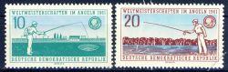 DDR 1961 Mi-Nr. 841-842 ** Weltmeisterschaften im Angeln