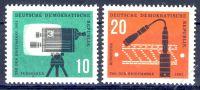 DDR 1961 Mi-Nr. 861-862 ** Tag der Briefmarke
