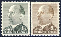 DDR 1963 Mi-Nr. 968-969 ** Staatsratsvorsitzender Walter Ulbricht