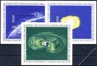 DDR 1964 Mi-Nr. 1081-1083 (Block 20-22) ** Internationale Jahre der ruhigen Sonne
