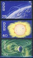 DDR 1964 Mi-Nr. 1081-1083 ** Internationale Jahre der ruhigen Sonne