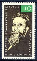 DDR 1965 Mi-Nr. 1096 ** 120. Geburtstag von Wilhelm Röntgen