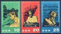 DDR 1965 Mi-Nr. 1084-1086 ** 90. Geburtstag von Albert Schweitzer