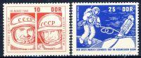DDR 1965 Mi-Nr. 1098-1099 ** Start des sowjetischen Raumschiffes