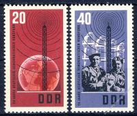 DDR 1965 Mi-Nr. 1111-1112 ** 20 Jahre Deutscher Demokratischer Rundfunk
