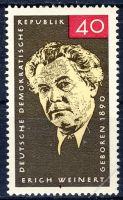 DDR 1965 Mi-Nr. 1124 ** 75. Geburtstag von Erich Weinert