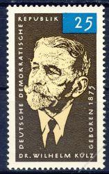 DDR 1965 Mi-Nr. 1121 ** 90. Geburtstag von Wilhelm Külz