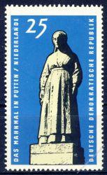 DDR 1965 Mi-Nr. 1141 ** Internationale Mahn- und Gedenkstätten