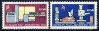 DDR 1966 Mi-Nr. 1159-1160 ** Leipziger Frühjahrsmesse