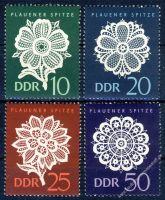 DDR 1966 Mi-Nr. 1185-1188 ** Plauener Spitze