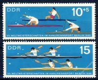 DDR 1966 Mi-Nr. 1202-1203 ** Weltmeisterschaften im Kanurennsport