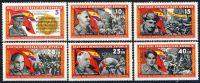 DDR 1966 Mi-Nr. 1196-1201 ** Kämpfer der Internationalen Brigaden