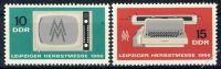 DDR 1966 Mi-Nr. 1204-1205 ** Leipziger Herbstmesse