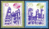 DDR 1971 Mi-Nr. 1700-1701 ** Leipziger Herbstmesse