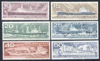 DDR 1971 Mi-Nr. 1693-1698 ** Schiffbau