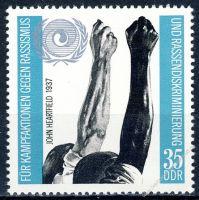 DDR 1971 Mi-Nr. 1702 ** Internationales Jahr gegen Rassismus
