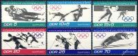 DDR 1971 Mi-Nr. 1725-1730 ** Olympische Winterspiele 1972