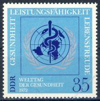 DDR 1972 Mi-Nr. 1748 ** Welt-Gesundheitstag
