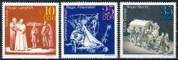DDR 1973 Mi-Nr. 1850-1852 ** Bedeutende Theaterinszenierungen