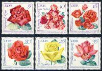 DDR 1972 Mi-Nr. 1763-1768 ** Internationale Rosenausstellung